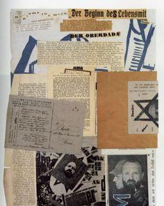 """Johannes Baader y Raoul Hausmann """"Dada Milchstrasse"""" 1918-20"""