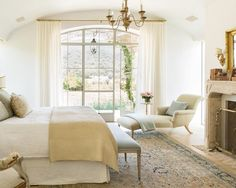 French Country Bedroom from Roads less traveled.