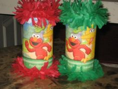 Birthday Party Favor Mini Pinata Candy Bags