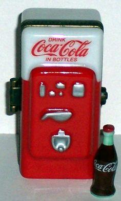 Coke Machine  Limoge Box