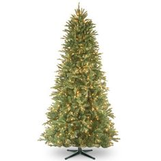 Pre-Lit 6.5' Faux Tiffany Fir Tree
