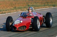 1961 - Wolfgang von Trips' (#20) Ferrari 156 - French Grand Prix  (Reims)