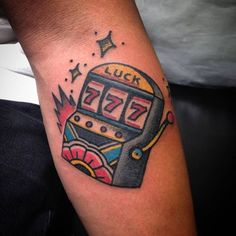 Image result for slot machine tattoos