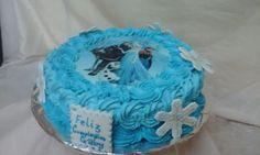 Pastel de Frozen