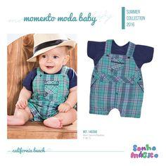 Moda Bebê | Moda Baby | Jardineira | Look Para o Príncipe