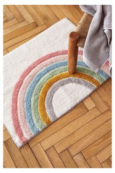 Zara Home Baby, Kids Bath Mat, Bath Mats, Zara Home Canada, Kid Bathroom Decor, Rainbow Room, Crate And Barrel, Decoration, Iris