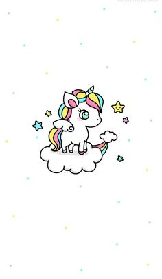 Cute unicorn Wallpaper ♤♡ Sigueme no te cuesta nada