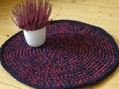 Teppiche - Teppich gehäkelt - ein Designerstück von RosaModern bei DaWanda
