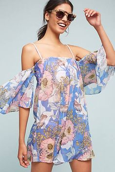 Lavenna Off-The-Shoulder Cover-Up
