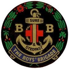 Boys' Brigade badge.