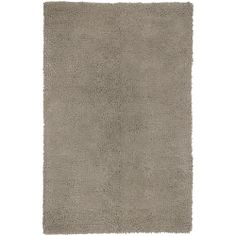 Hand-woven Aspen Gray Wool Rug (5' x 8') | Overstock.com Shopping - Great Deals on 5x8 - 6x9 Rugs