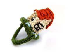 I have a house, it is a small, hand-operated and can be your ..:)  100% cotton threads, 100% crocheted,  girth 2 1 \/ 4 (6cm)