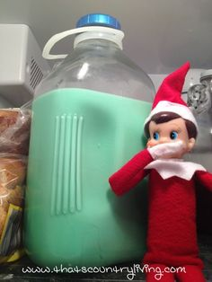 Looking for new ideas for your elf on the shelf? Check out the best list of easy Elf on the Shelf ideas. There are hundreds of ideas with pictures! Christmas Toys, Christmas Elf, All Things Christmas, Christmas Decorations, Holiday Decor, Elf Ideas Easy, Christmas Ideas, The Elf, Elf On The Shelf