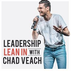 Discussions about leadership with Chad Veach. Christian Podcasts, Christian Organizations, Living In La, Listening To You, Inspire Me, Leadership, Speakers, People, Pastor