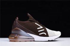 1750b3086fe1 2018 Mens Womens Nike Air Max 270 Flyknit Dark Hazel Light Bone White  Sneakers-5