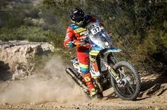 Nicolás Cardona arriba a Bolivia y cede una posición