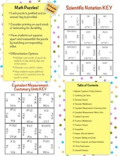 15 challenging math puzzles, great for a sub or days before a holiday break
