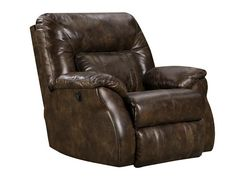 Cosmo Power Lay-Flat Recliner by Southern Motion  sc 1 st  Pinterest & Shop for a Cindy Crawford Home Auburn Hills Brown Leather Power ... islam-shia.org