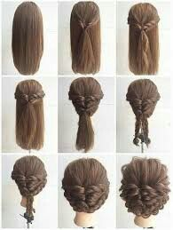 Step by step hard, but fun hairstyle