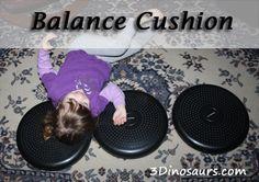 Gross Motor: Balance Cushion - 3Dinosaurs.com