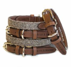 Mutts and Hounds Luxury Herringbone Tweed Dog Collar trending dog products from our store and get up to off. You will not find this rare dog accessories in any other store, so grab this Limited Time Discount Now!