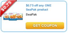 SeaPak Coupon and Deal Idea on http://www.coupongeek.net