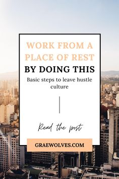 The exact steps you need to leave hustle culture, work from a place of rest and still be productive in your business! Creative Business, Business Tips, Planning And Organizing, Hustle, Productivity, Rest, Leaves, Culture, How To Plan