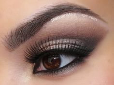 Nice tutorial on creating a smoky eye using Too Faced Boudoir Eyes palette courtesy of Maryam Maquillage