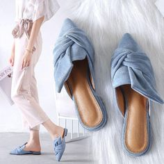 838710d47545 Women s Chic Pointed Flat Sandal Shoes Pointed Flats