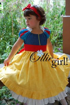So I HAVE one of these costumes in my attic that I wore... but Ollie girl makes them beautifully!