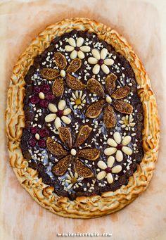 maniapieczenia: Mazurek truffle and almond Swedish Recipes, Sweet Recipes, Cake Recipes, Dessert Recipes, Polish Cake Recipe, Polish Recipes, Polish Food, Malt Loaf, Homemade Pastries