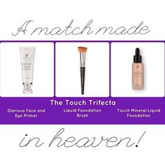 Amazing coverage! Liquid foundation that dries into a light, powder like finish!  www.makeupwithjewels.com
