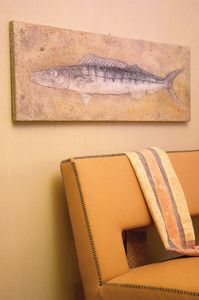 Creative Company   Quick Art: Fantastical fish fossil Fish Fossil, Creative Company, Craft Projects, Crafty, Wall Art