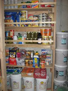 Mormon Food Storage Captivating Prepared Lds Family Pictures Of Food Storage Shelves Pantries And Decorating Design