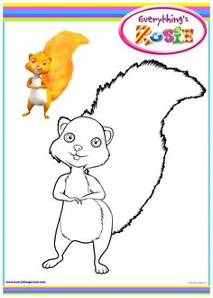 everythings rosie coloring book pages - photo#18