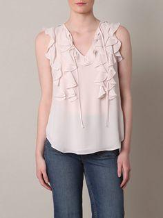 Rebecca Taylor  Ruffle blouse $252