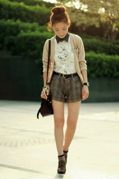 dc2b3f1946f Discover this look wearing White Tinkerbell Uniqlo Ts