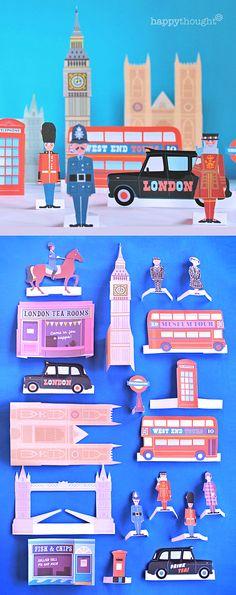 London printable activity worksheet pack