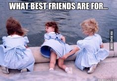 Best friends forever and we got each other's backs!