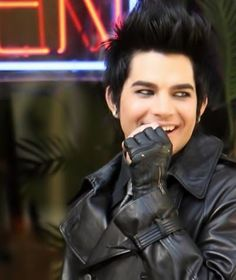What's so funny? ;) Adam Lambert