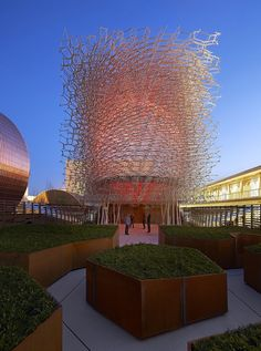 Expo Milan 2015 | Uk Pavilion designed by Wolfgang Buttress.