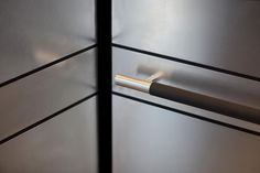 LEVELe-104 Elevator Interior with panels in Stainless Steel with Marquisette finish; Sextant handrail in Santoprene and Satin Stainless Steel at Metropolitan Bank Mississippi Headquarters, Ridgeland, Mississippi