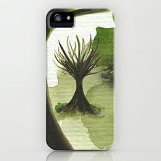 Emerald Tree iPhone & iPod Case by Marina Kanavaki - $35.00