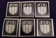 Italian shield rugby stencils for glitter tattoos / airbrush Italy 6 nations Glitter Tattoo Set, Airbrush, Rugby, Stencils, Adhesive, Italy, Tattoos, Air Brush Machine, Italia