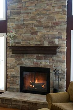 Tall Fireplace Design Ideas, Pictures, Remodel, and Decor - page 4