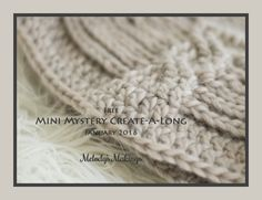 Free Mini Mystery CAL/KAL! January 2016. Sign up now to reserve your slot!