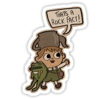 Greg. Sticker (I just loved Over the Garden Wall--I wish it had gone on FOREVER!)
