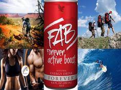A FAB, és FAB X energiaitalok koffeinmentesek, ginzenget, guaranát, Aloe Verát tartalmaznak. Ezen kívül számos gyümölcs és gyógynövénykombináció van bennük, amik egymás hatását is erősítik.
