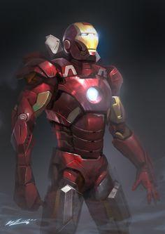 Iron Man Mk7 by JUNLING.deviantart.com on @deviantART