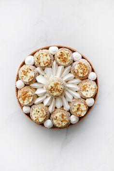 עוגיו.נט: טארט סנט אונורה קרמל, וניל ושוקולד לבן
